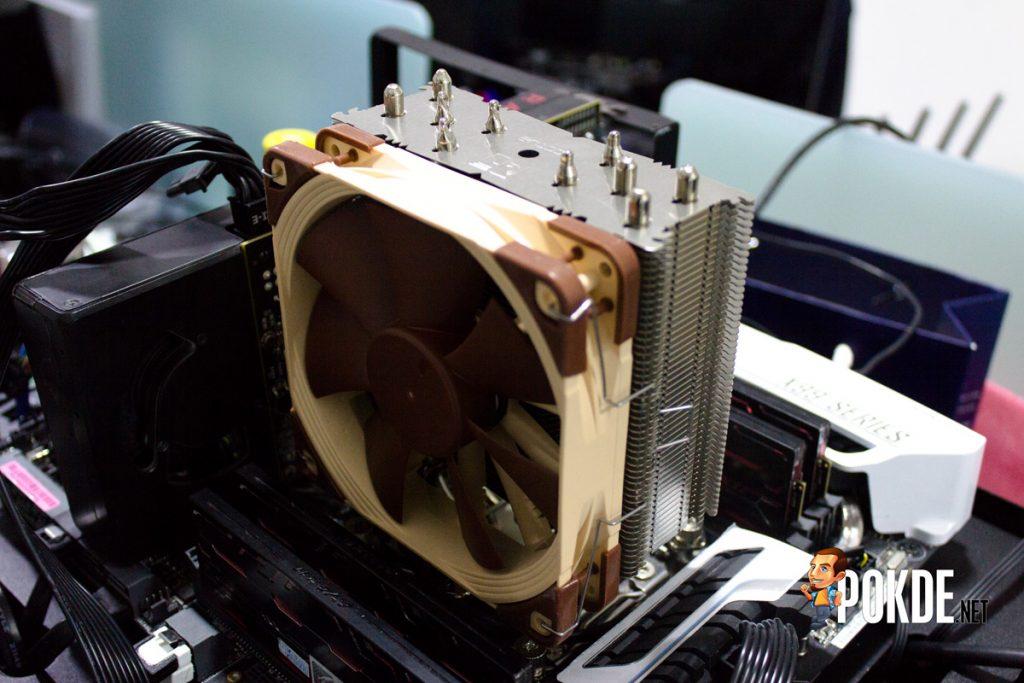 Noctua NH-U12S 120mm Air Cooler Review — Size does matter 40