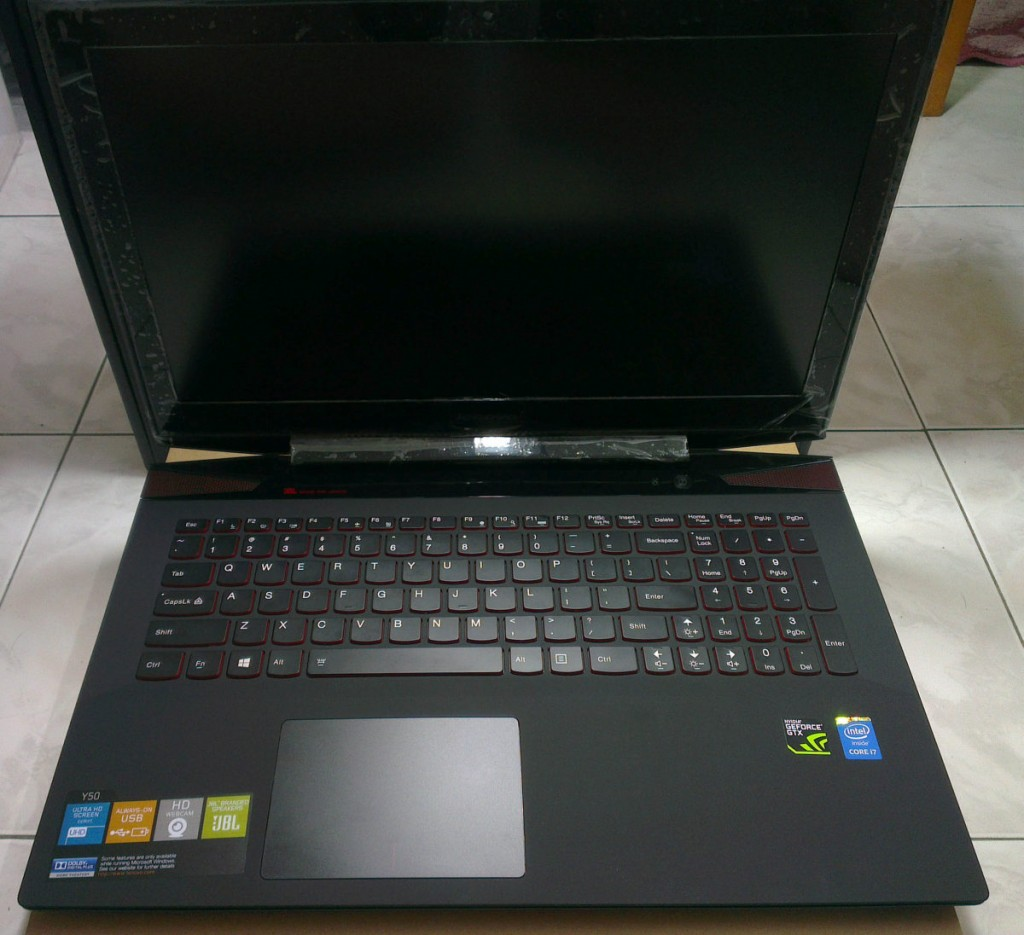 Le Opened Laptop