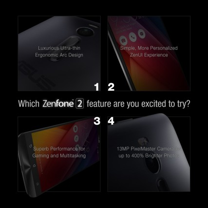 Just some of the Zenfone 2 features.
