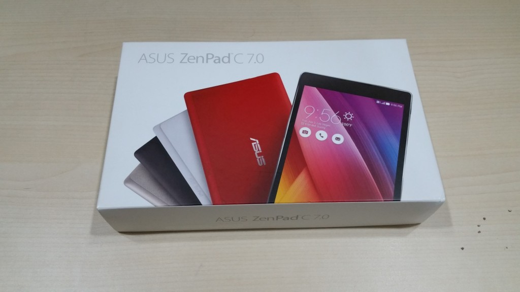 Asus has brought the Zenfone 2 package design to the Asus Zenpad Series