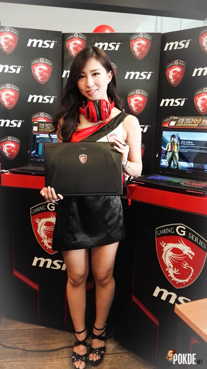 MSI GS40 with model