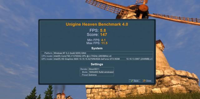 UningineHeaven HD5600 GP62