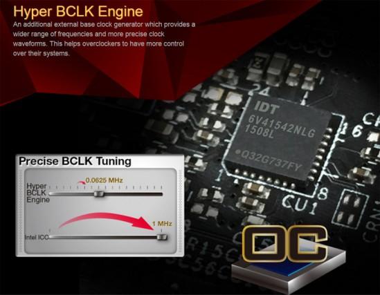 Asrock BCLK engine