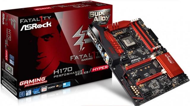 Asrock Fatal1ty H170 Gaming K4 HYPER