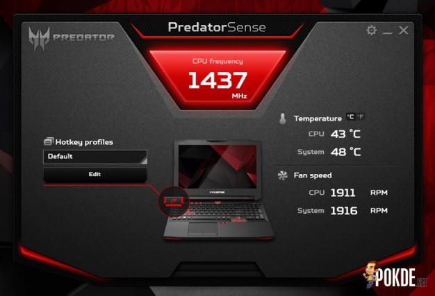 Predator 15 PredatorSense