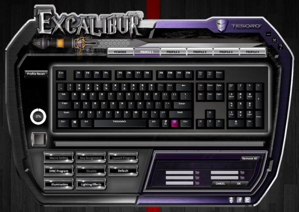 Tesoro Excalibur Spectrum driver 3