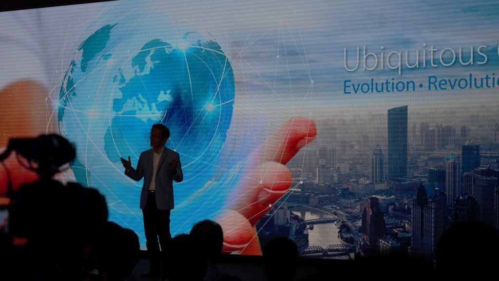 Mr. Jonny Shih - Chairman of Asus takes the stage. Seems pretty excited to share the insights, and I'll tell you, he has all the reasons to be excited.
