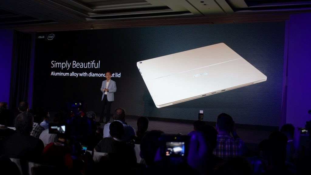 It's a much beautiful Surface Pro. Aluminium alloy with diamond cut lid. But that's just the beginning.