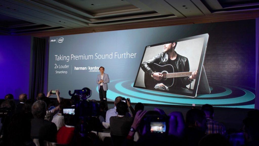 I couldn't be bothered much with the sound on the tablet personally. But some users would find it interesting bragging rights bearing the Harman Kardon speakers.