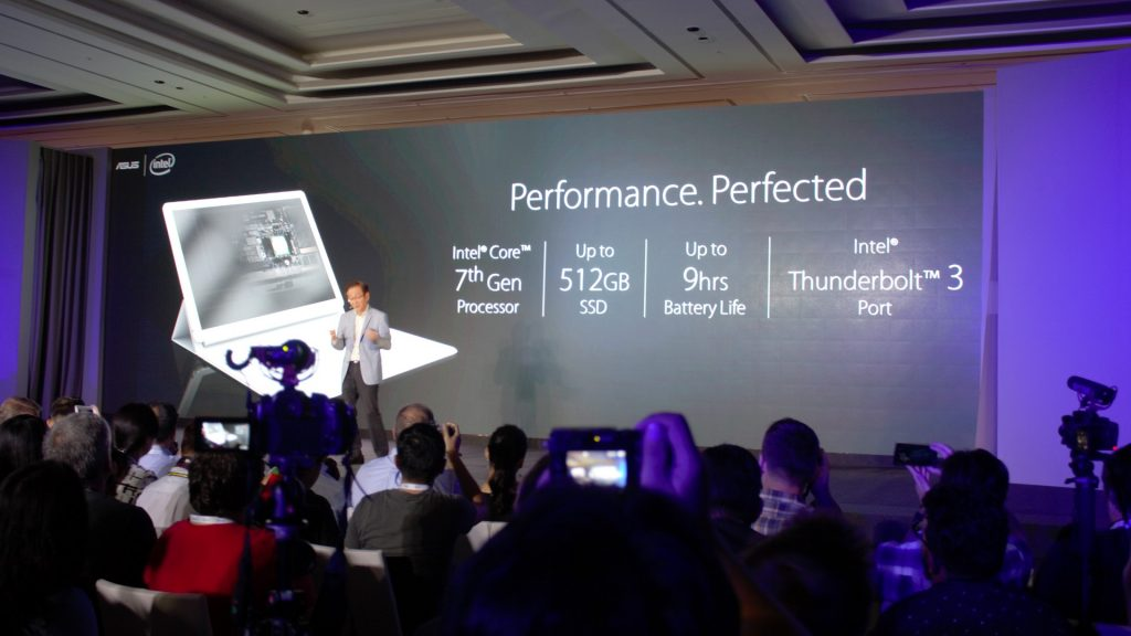 Why? You thought it would be under-powered compared to it's PRO counterpart? 7th gen Processor (not i7), 512GB SSD and thunderbolt 3 ALSO present means this is not your average tablet.
