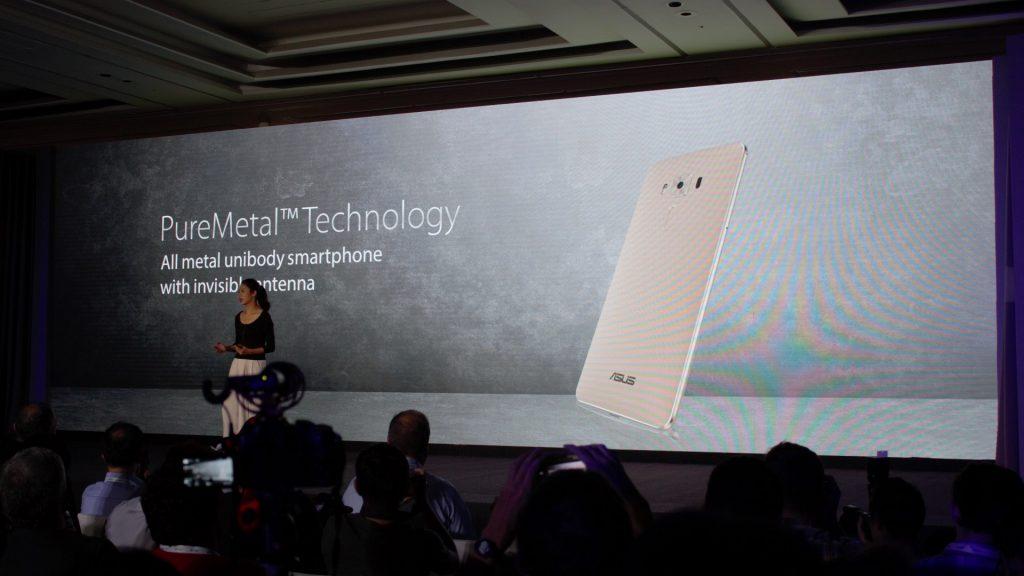 "Asus calls it ""PureMetal Technology"""