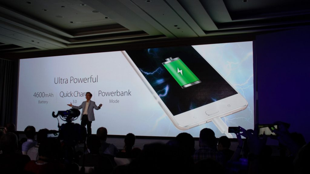 When you have that much space, give them more power! Use it as a power bank too. Although it's slightly smaller capacity than the Zenfone Max.