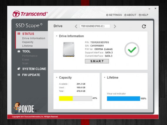 Transcend SSD370S-8