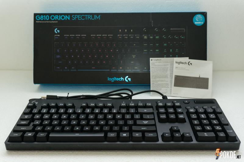 Logitech G810 Orion Spectrum Review Romer G Done Right Pokde Net