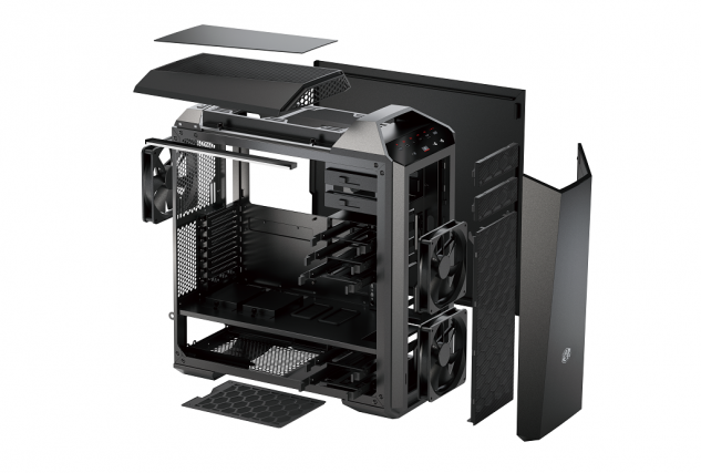 MasterCase Maker 5 - Explosive View_without side panel