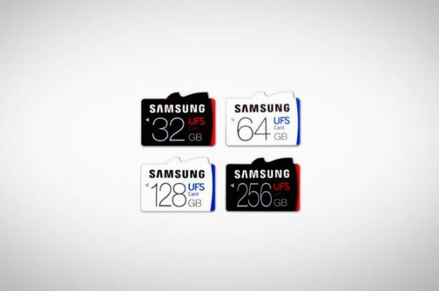 Samsung UFS memoy card