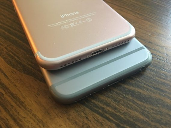iPhone 7 vs iPhone 6S 2