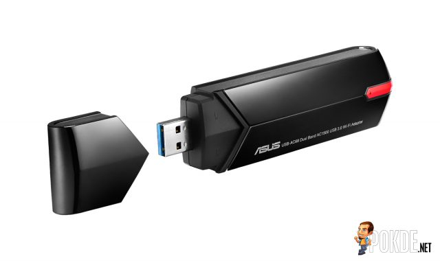 ASUS-USB-AC68-dual-band-AC1900-USB-Wi-Fi-adapter---folded