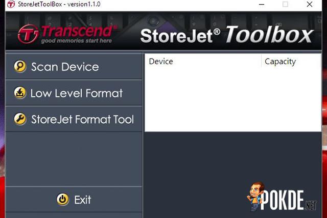 StoreJet 25H3 StoreJet Toolbox
