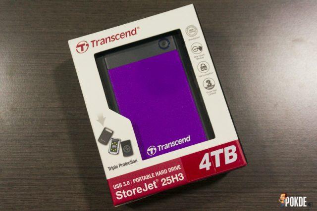 Transcend StoreJet 25H3 4TB-1