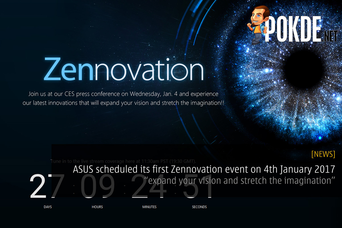 Asus Hints Towards Its First Zennovation Event On 4th