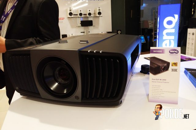 BenQ Malaysia launched its BenQ W11000 4K UHD projector – priced at RM 23800 23