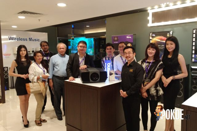 BenQ Malaysia launched its BenQ W11000 4K UHD projector – priced at RM 23800 27