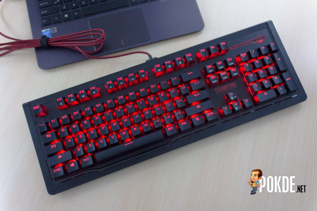 1ST PLAYER Steampunk V2 mechanical keyboard review — it's now modular 34