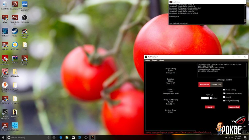 ASUS ROG Strix Z270E Review + Intel Core i7-7700K Kaby Lake CPU 37