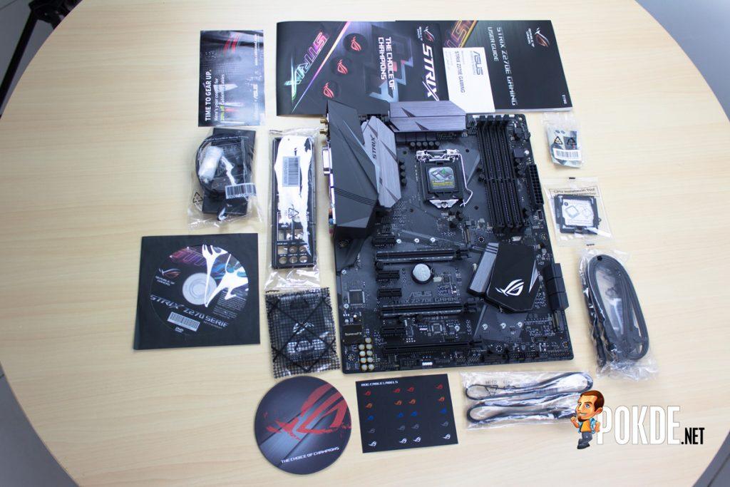 ASUS ROG Strix Z270E Review + Intel Core i7-7700K Kaby Lake CPU 22