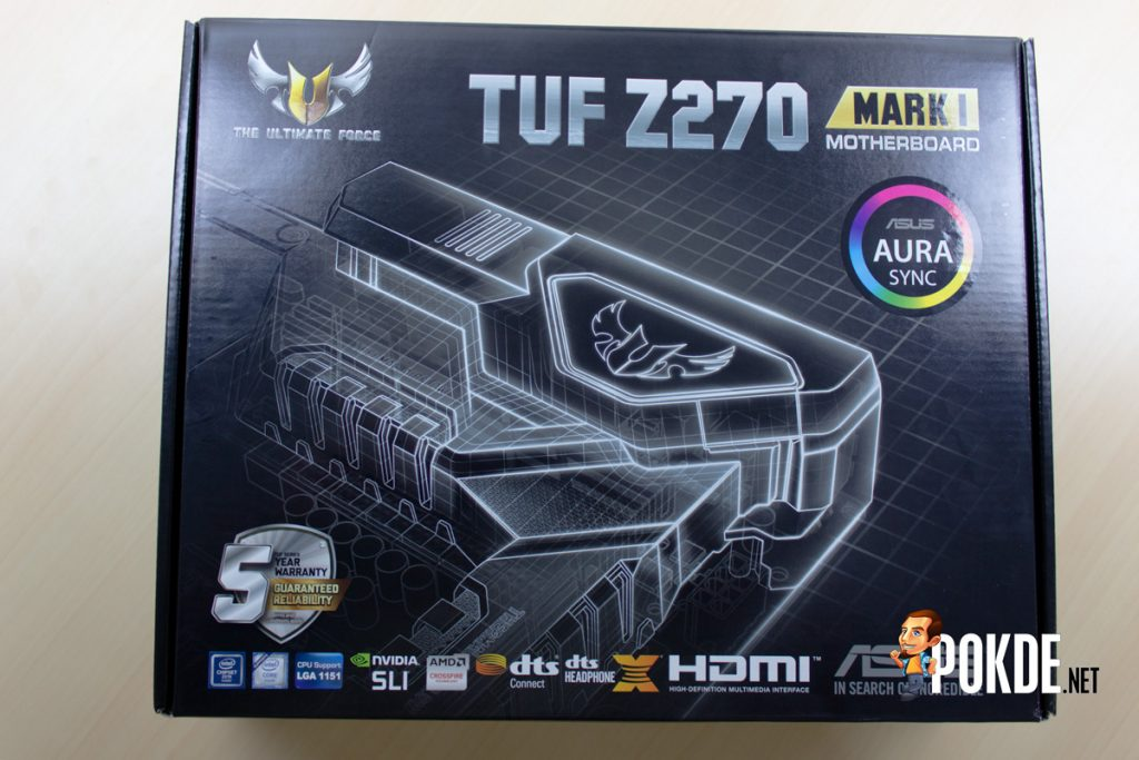 ASUS TUF Z270 Mark 1 Review - Putting out a TOUGH (No Pun Intended) Competition 19