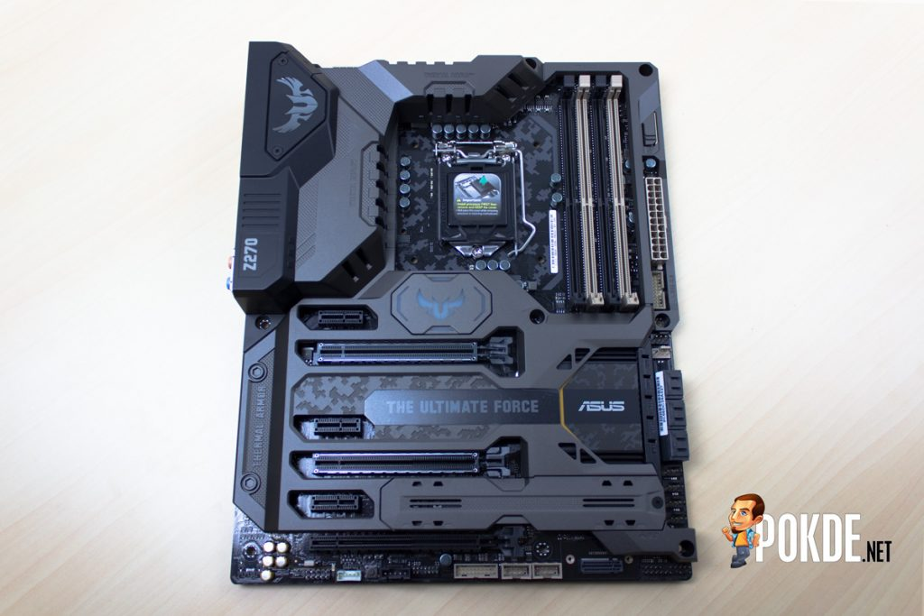ASUS TUF Z270 Mark 1 Review - Putting out a TOUGH (No Pun Intended) Competition 22
