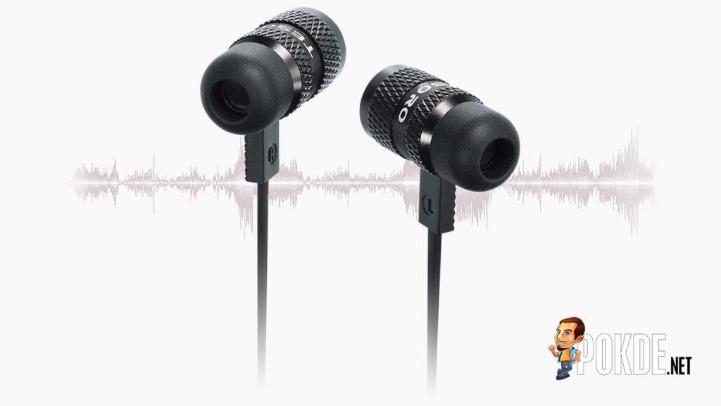 Tesoro introduced its first in-ear headphone — the Tesoro Tuned In-Ear Pro 21