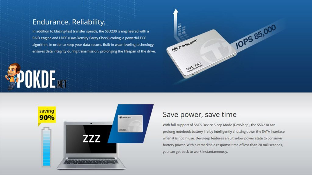 Transcend unveils its new Transcend SSD230 — with 3D NAND flash technology 23
