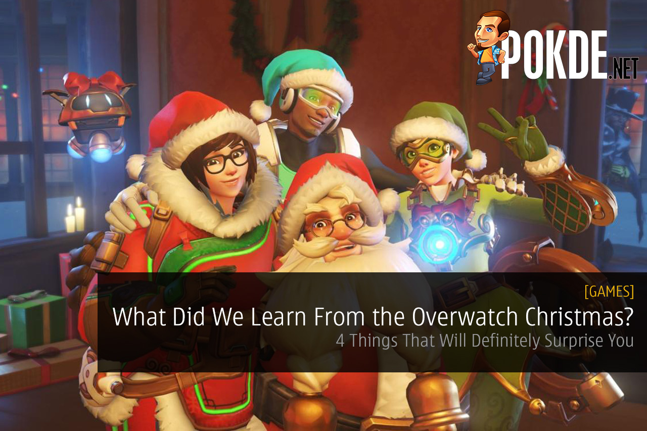 What did we learn from the overwatch christmas event pokde - Overwatch christmas wallpaper ...