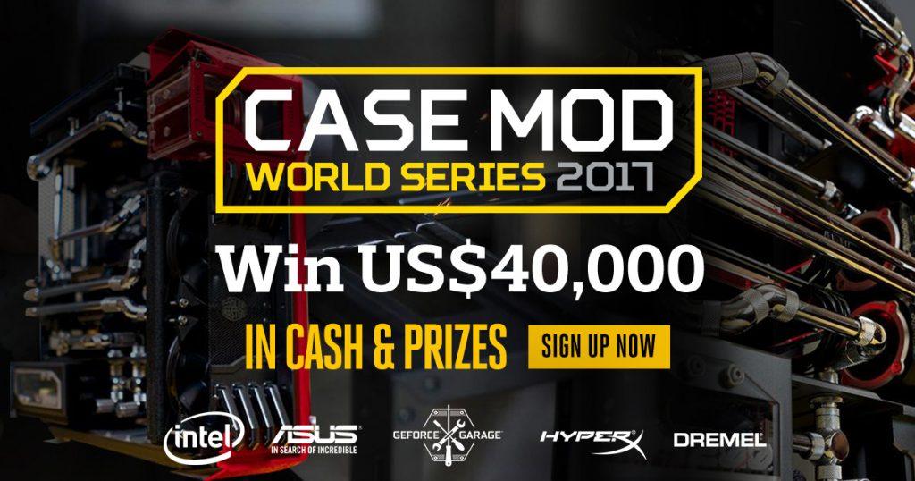 Cooler Master 'Case Mod World Series 2017' with 25th Anniversary Celebration Bonus announced 22