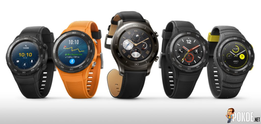 Huawei Watch 2 announced at MWC 2017, coming to Malaysia in May 25