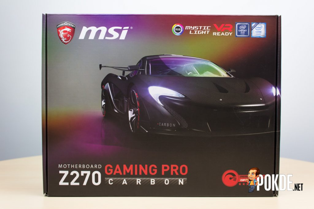 MSI Z270 Gaming Carbon Pro review — Aesthetically improved and feature rich 24