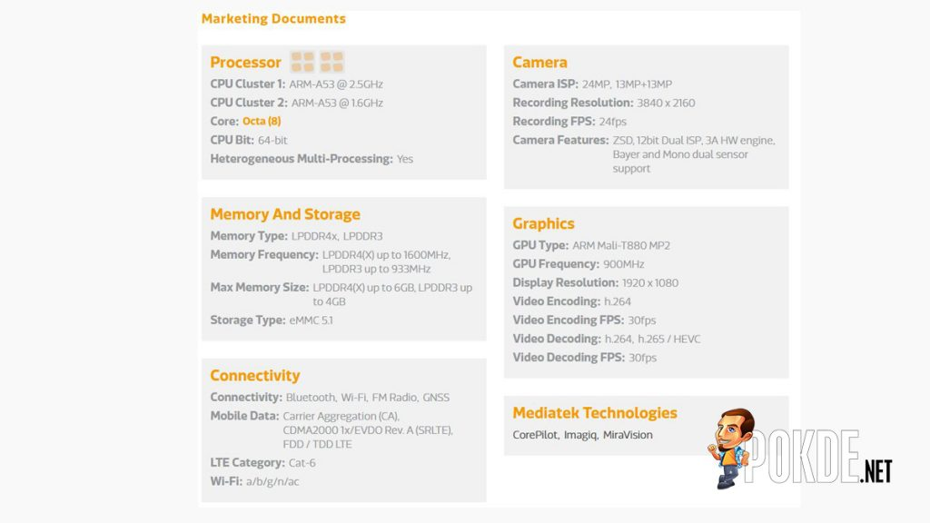 MediaTek readies the new Helio P25 SoC for dual-camera smartphones 25