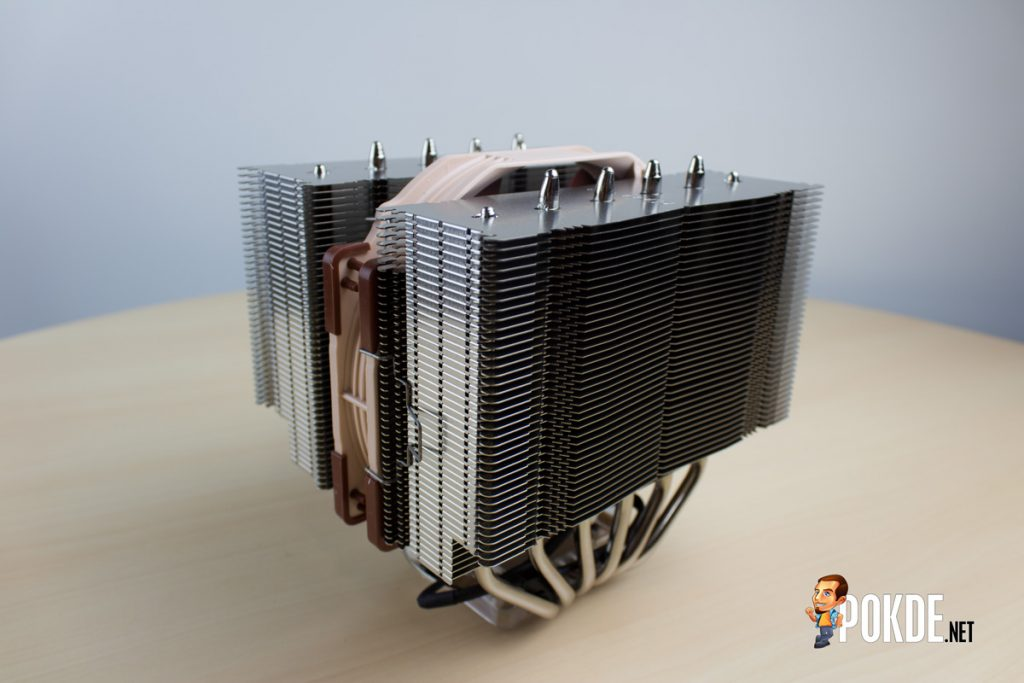 "Noctua NH-D15 dual tower CPU cooler review —The ""Sandwich"" cooler 37"
