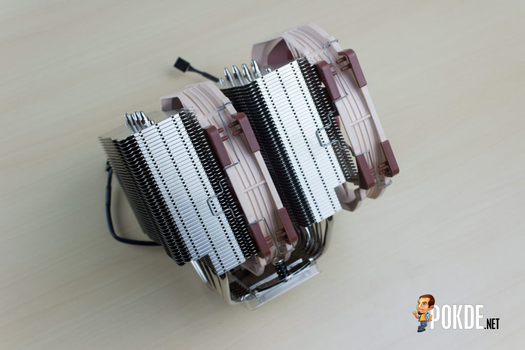 "Noctua NH-D15 dual tower CPU cooler review —The ""Sandwich"" cooler 43"