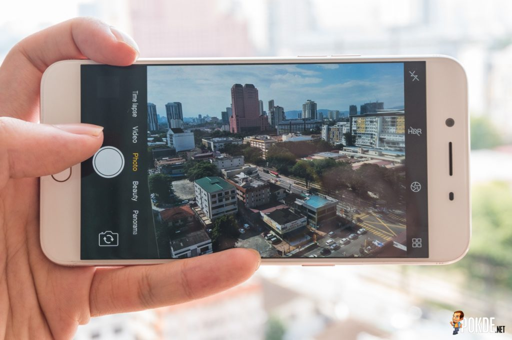 What's up with the OPPO R9s' camera 25