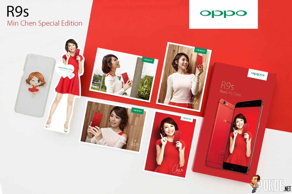 [UPDATE] OPPO R9s Min Chen Limited Edition is coming, additional goodies in box! 25