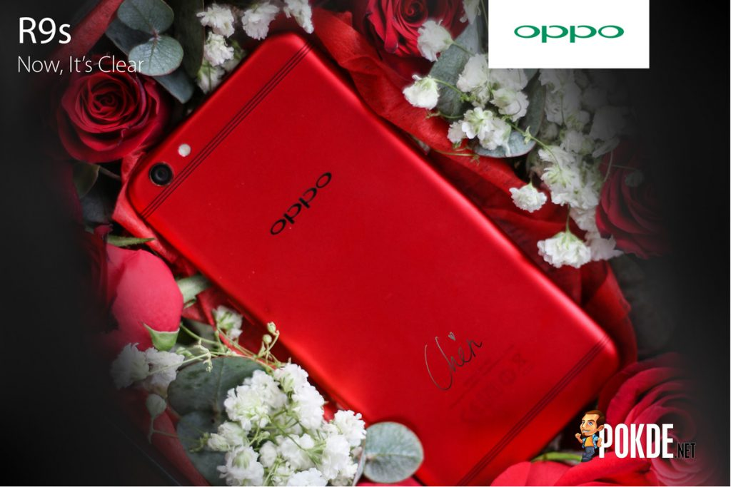 [UPDATE] OPPO R9s Min Chen Limited Edition is coming, additional goodies in box! 24