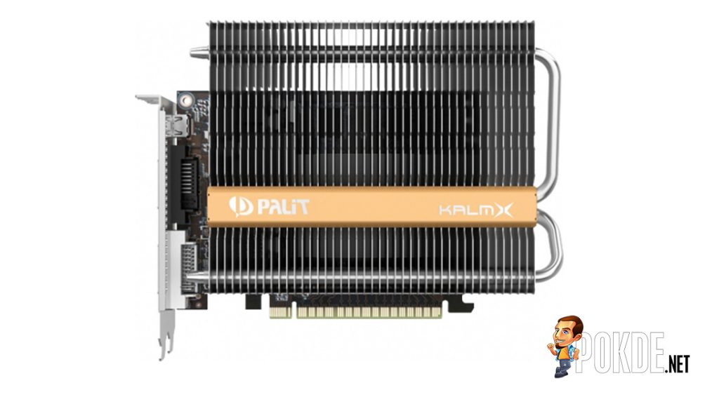Palit launches the world's first passive cooled Palit GTX 1050 Ti KalmX 22