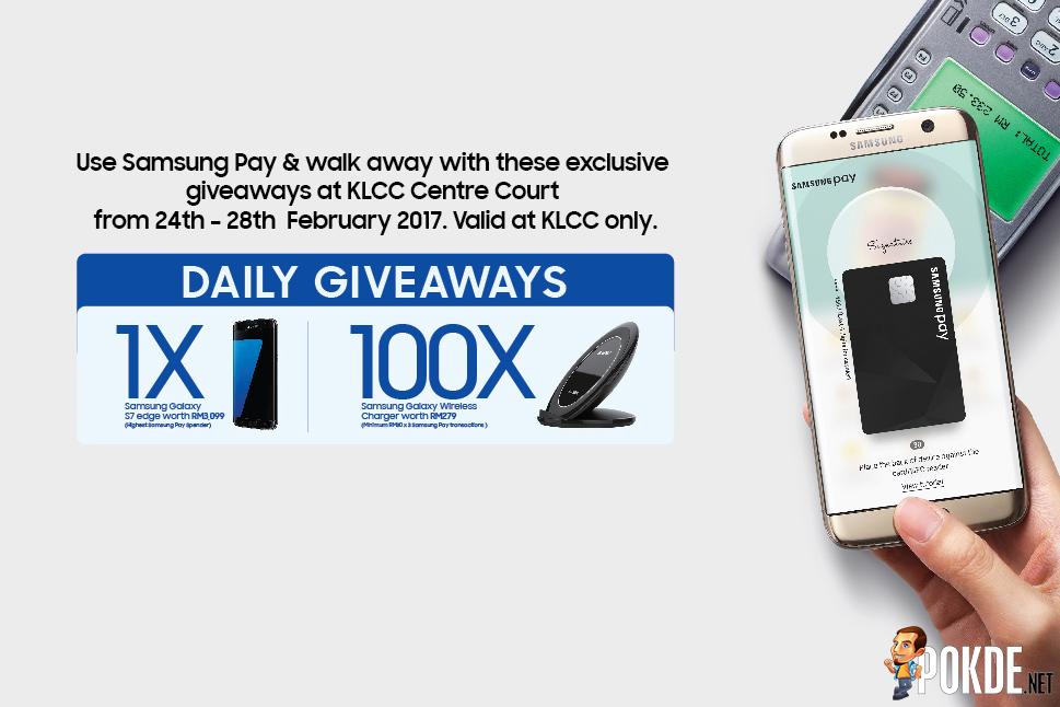 Use Samsung Pay and win a Samsung Galaxy S7 Edge! 20