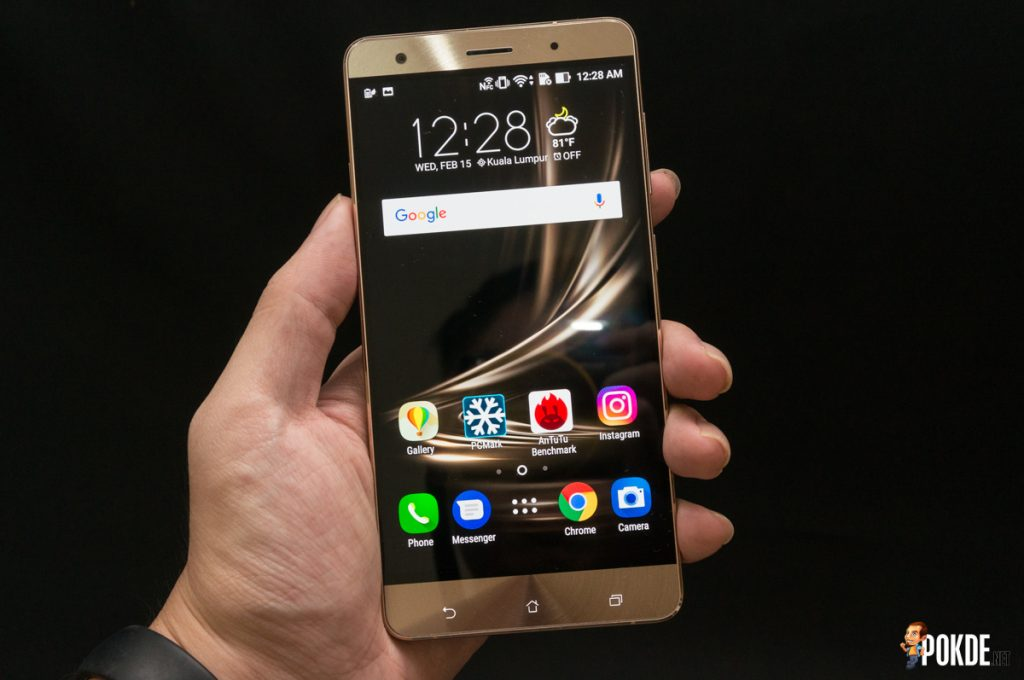 ASUS ZenFone 3 Deluxe (ZS570KL) review — Too much compromise 34