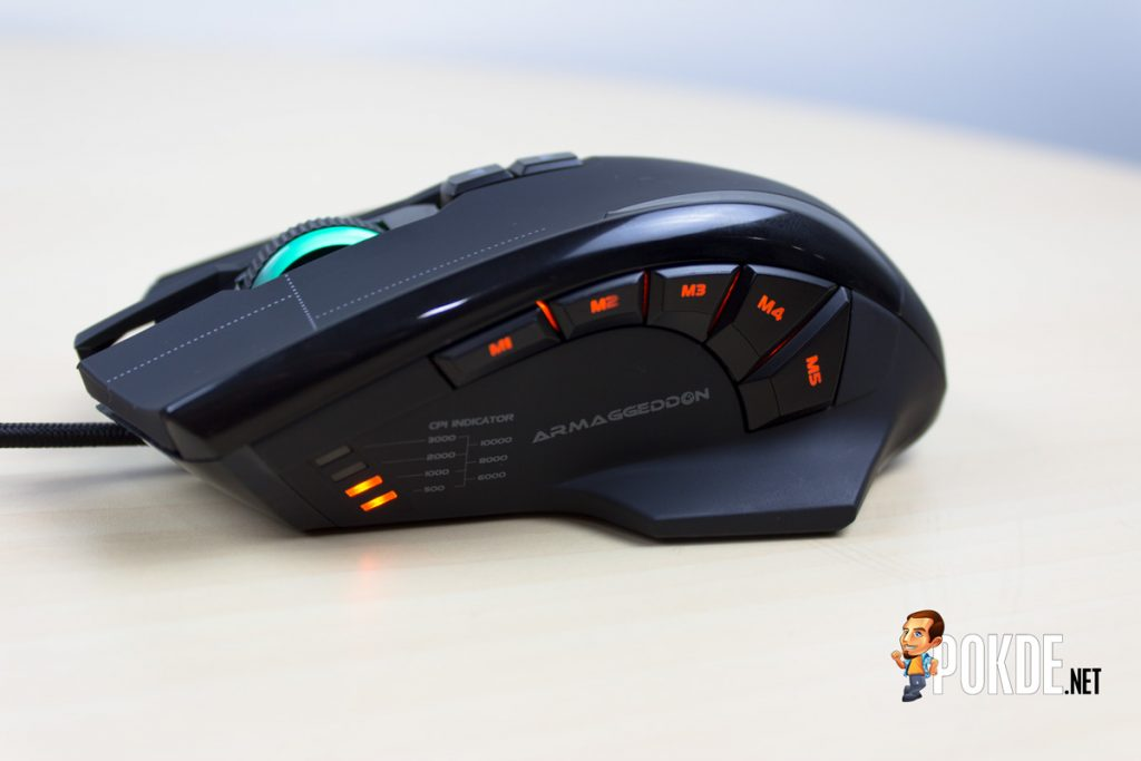 ARMAGGEDDON NRO-5 STARSHIP III 2017 Edition Gaming Mouse Review - Improved design and performance 35