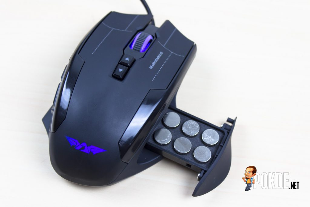 ARMAGGEDDON NRO-5 STARSHIP III 2017 Edition Gaming Mouse Review - Improved design and performance 26