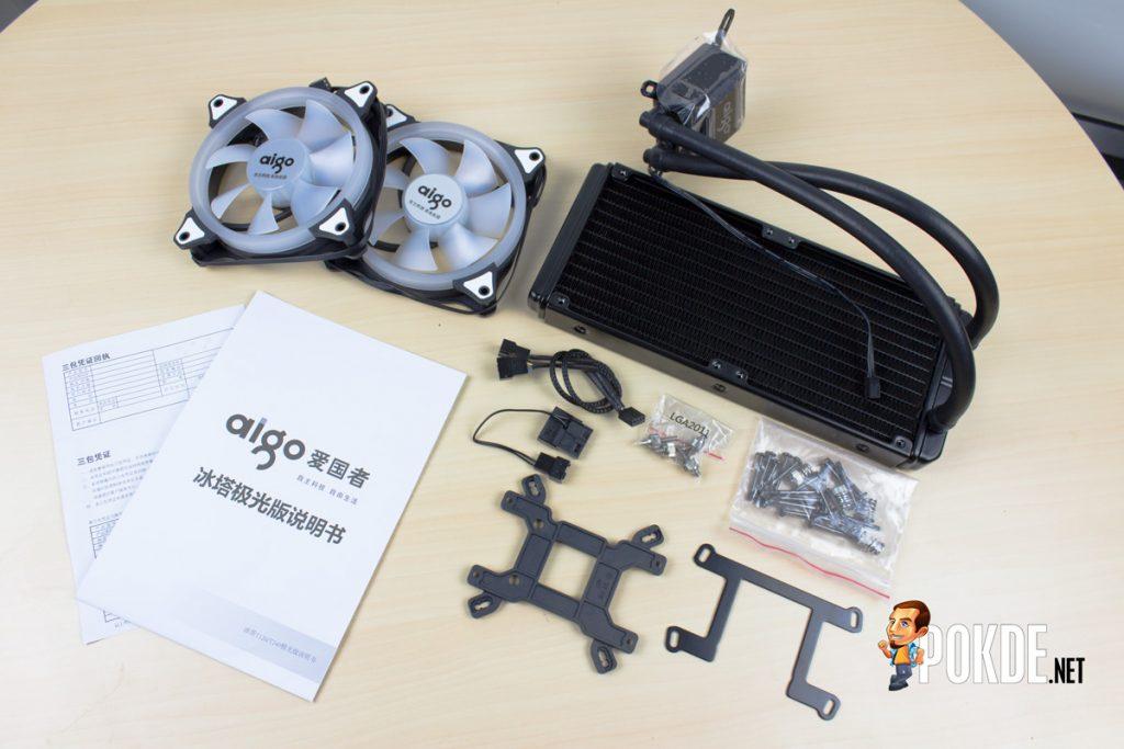 Aigo Serac T240 AIO Liquid Cooler Review - Bigger radiator, better heat dissipation 21